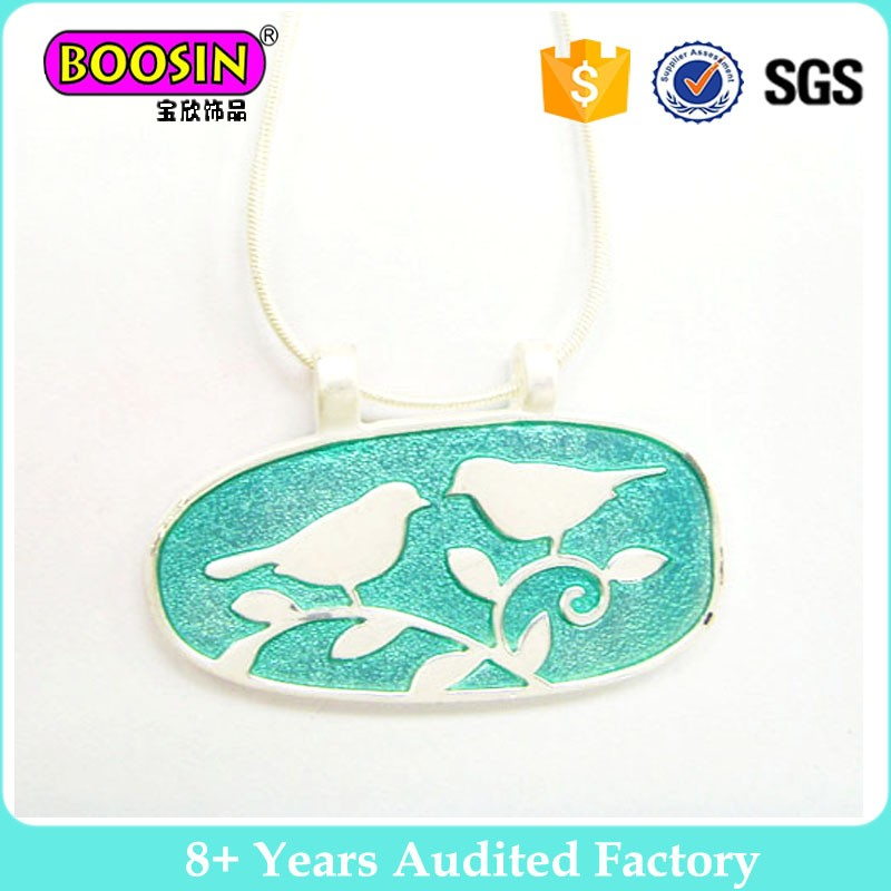 2017 Latest design enamel necklace for gifts necklacce jewelries