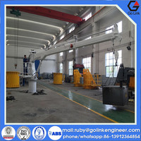 slewing bearing winches good quality widely used low price 10tons hydraulic crane