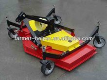 agricultural machinery grass slasher pto tractor finishing mower