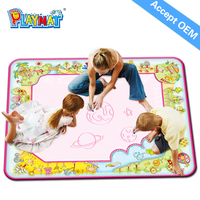 PLAYMAT super size aqua doodle can be doodle for free (non-toxic)