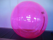 Magic water ball, inflatable water walking ball, water floating light ball on sale