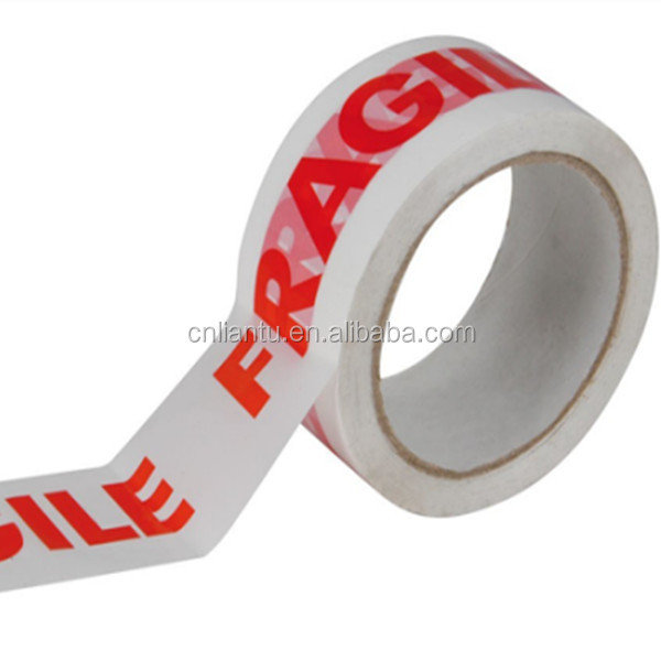 acrylic adhesive and bopp material fragile tapes made in china
