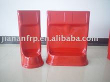 fiberglass fire extinguisher bracket ( single and double )