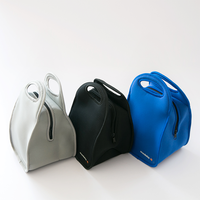 Waterproof neoprene lunch bag for women