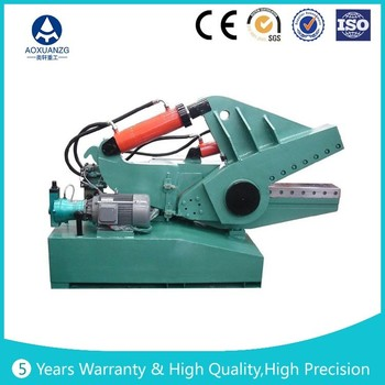 crocodile hydraulic shearing machine,Q43 series alligator scrap metal cutting machine, waste scrap sheet shears