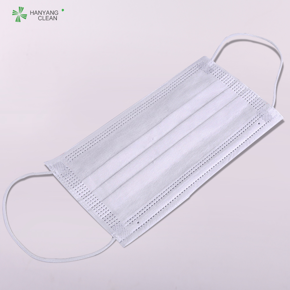 disposable 3 ply non woven face mask