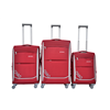 decent lady girl good red eva luggage sets 20 inch 24 inch 28 inch