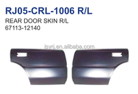 auto parts steel rear door skin R/L apply for toyota corolla ae92('87-93) 67113-12140