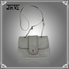 New arrive 2014 spring ladies cross body bag with chain
