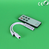HS-IR6K Mini RGB Wirless Remote Controller 6 Keys for 5050 RGB Led Strips