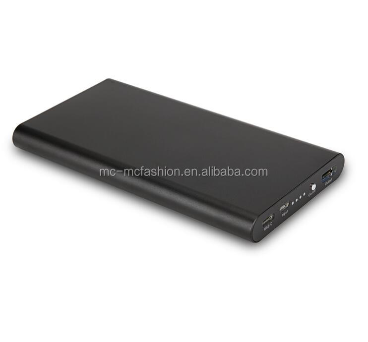 Power Bank 10000mAh Super Slim Metal Surface 4 LED Light Backup External Battery Portable Charger