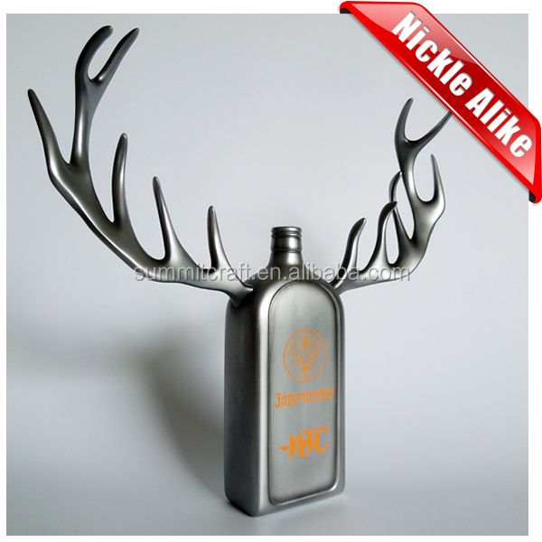 Imitation Nickel custom bottle display polyester resin manufacturer