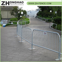 PVC coated Bulk sale Factory price high quality temporary metal fence panels