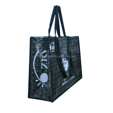 Carrying Travel Bag Two Handles Reusable Woven Event Tote