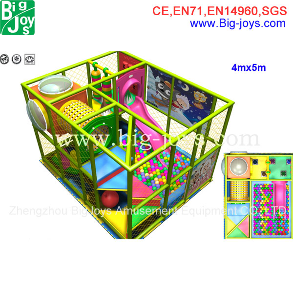 Kids play set commercial used soft play area for indoor