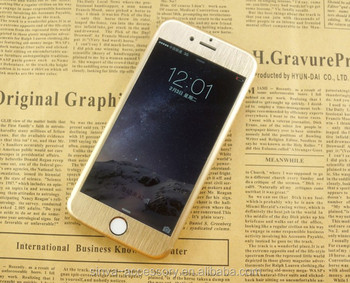 Sinva Full Cover 9H Titanium Alloy Color tempered glass screen protector for iphone 5 / 6 / 6 Plus / screen protector glass