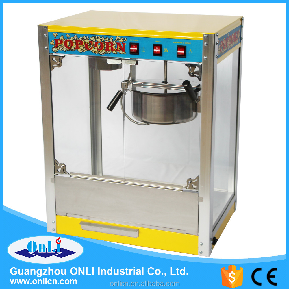 high quality gas kettle popcorn machine corn popping machine