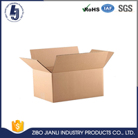 Glossy full color print carton box for flower shipping