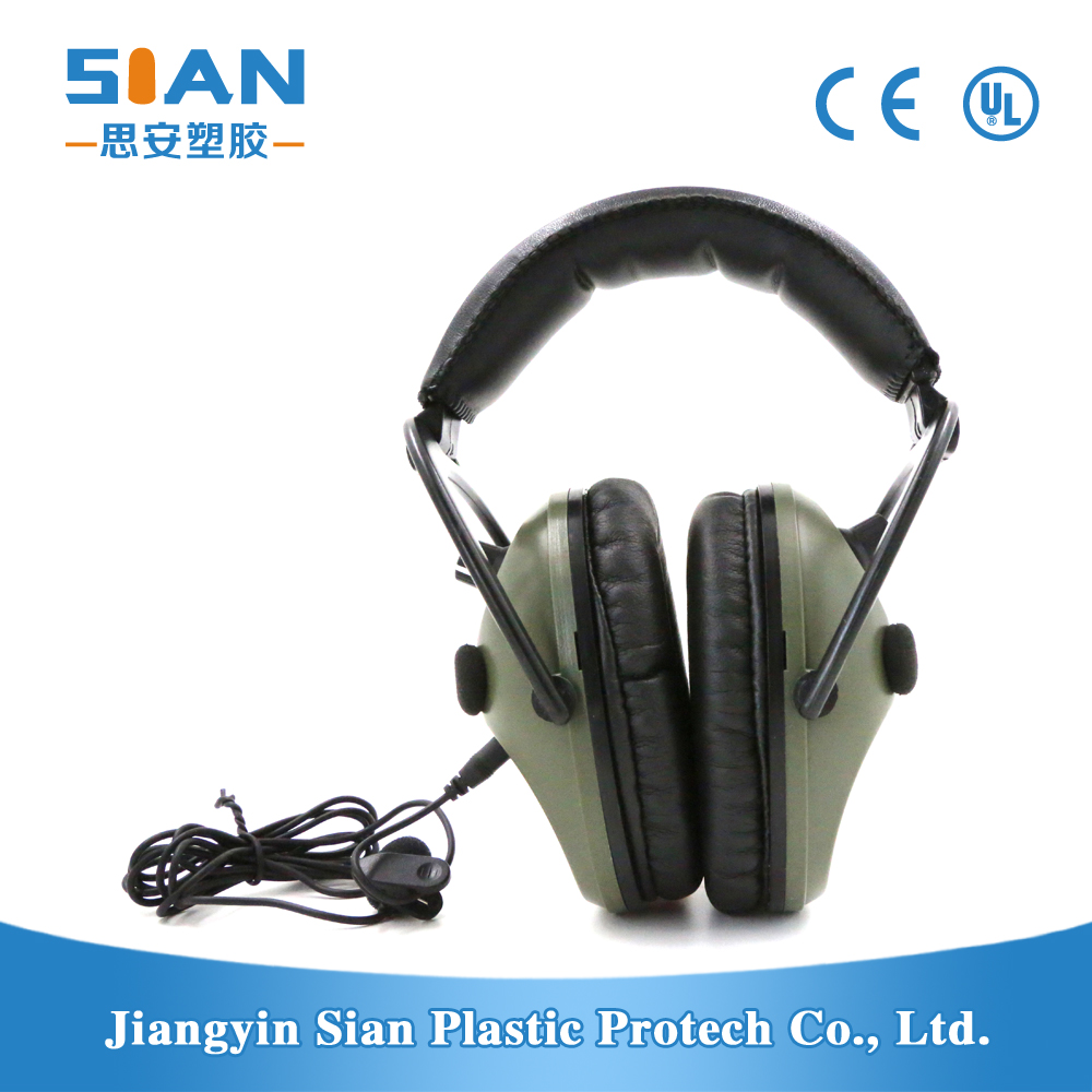 Electronic tactical hearing protection shooting ear muff