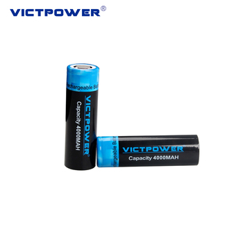 Victpower rechargeable 21700cylinder batteries 3.7V 4000mAh Cells for E-bike