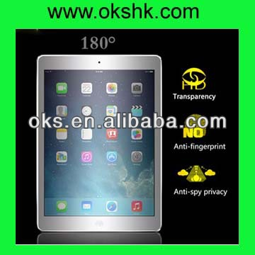 3M Anti-spy / privacy Screen protector for ipad mini for ipad air privacy screen flim