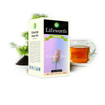 Lifeworth Blooming Dandelion And Lotus Flower Ginseng Tea With