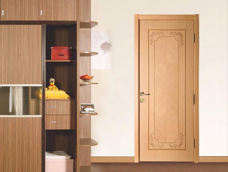 China flat exterior flush doors design pvc flush wood for Flush exterior door