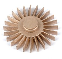 Bronze impeller lost wax casting