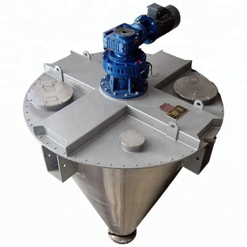 DSH double helix dry powder mixer