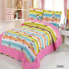 Lovely and beautiful design for girl pink bed sheet