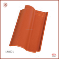 Easy Installation Ceramic Coated Roof Tile Manufacturing