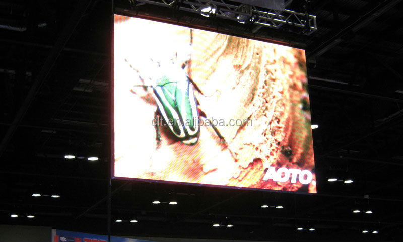 shenzhen indoor led screen panel true color p6/hd led screen display full color for rental