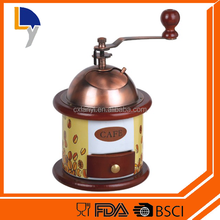 New design products factory sale custom hand operation coffee bean grinder