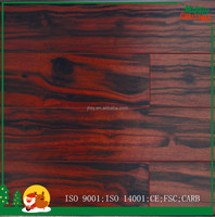 Natural Color Multilayer Ebony Hardwood Flooring good Price