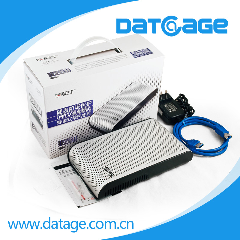 Datage Professional Manufacture Supply 3.5 and 2.5 External Harddrive