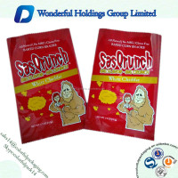 High quality snack food packaging bag / food grade plastic bags / Custom design food packaging bag