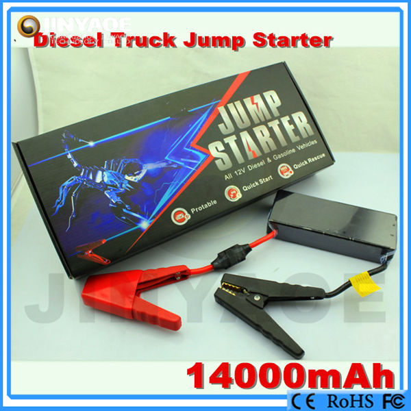 12v power pack emergency jumper rescue tools