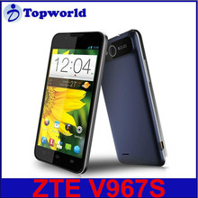 ZTE Original V967S smart phone 5.0 inch QHD 960x640 MTK6589 Quad Core Android 4.2 Shenzhen China factory directly