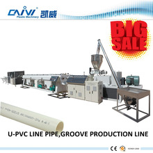 Full set of PVC/UPVC groove production line widely overseas