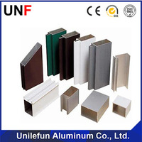 anodized aluminium profile for office partition