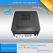 MPEG-2/4 SD/HD CA DVB-C Cable TV Decoders
