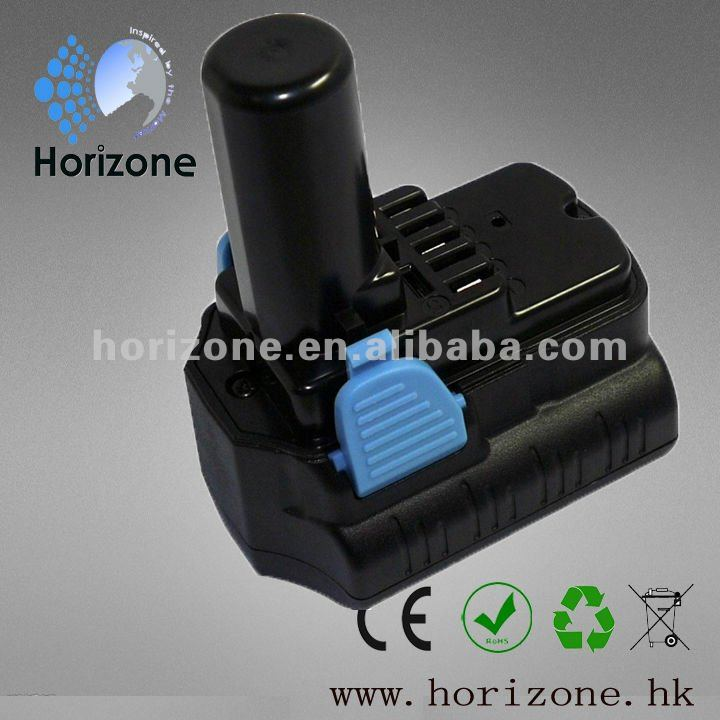 Replacement Battery for Power tool battery 10.8V 3000mAh Li-ion BCL 1030 BCL 1015 CJ10DL WH 10DL
