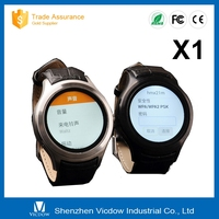 Android 4.4 cheap GPS GSM Bluetooth wifi smart watch phone X1