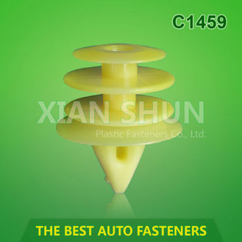 auto clips and plastic fastener factory supply