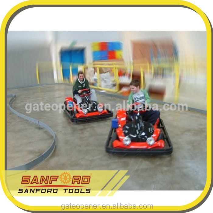 electric racing go karts sale with optional safety bumper/E-time/Coin timer