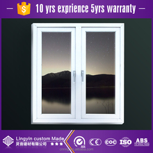 2017 New thermal break aluminum window frame and glass reinforced window glass AW60