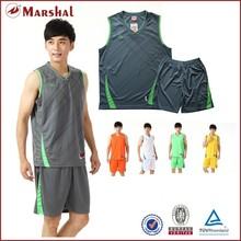 Wholesale man basketball sleeve short uniform cheaper man basketball jersey