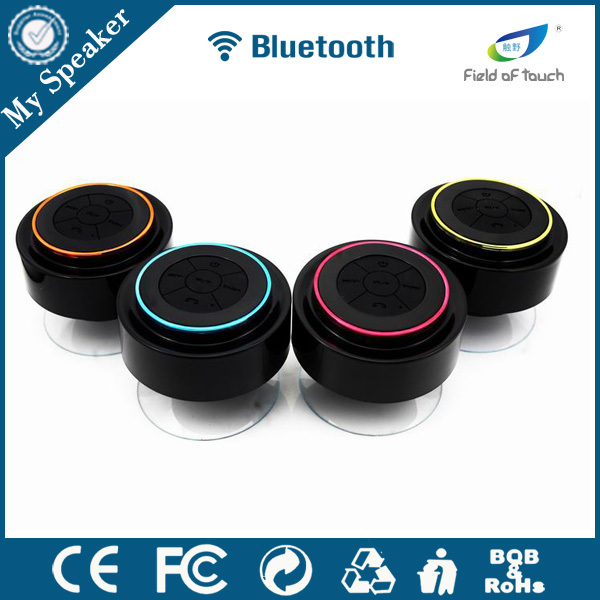 My speaker patent manufacturer new product 2016 mini speaker bluetooth, waterproof shower radio,stereo outdoor bluetooth speaker