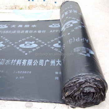 SBS asphalt waterproof roofing felt