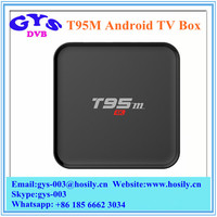 T95M 4K Android TV Box Amlogic S905 Android 5.1 Quad Core CPU TV Box Full HD 1080P Media Player 2GB RAM 8GB ROM Smart TV Box